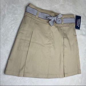 French Toast Tan Khaki Colored Skirt Girls Size 10